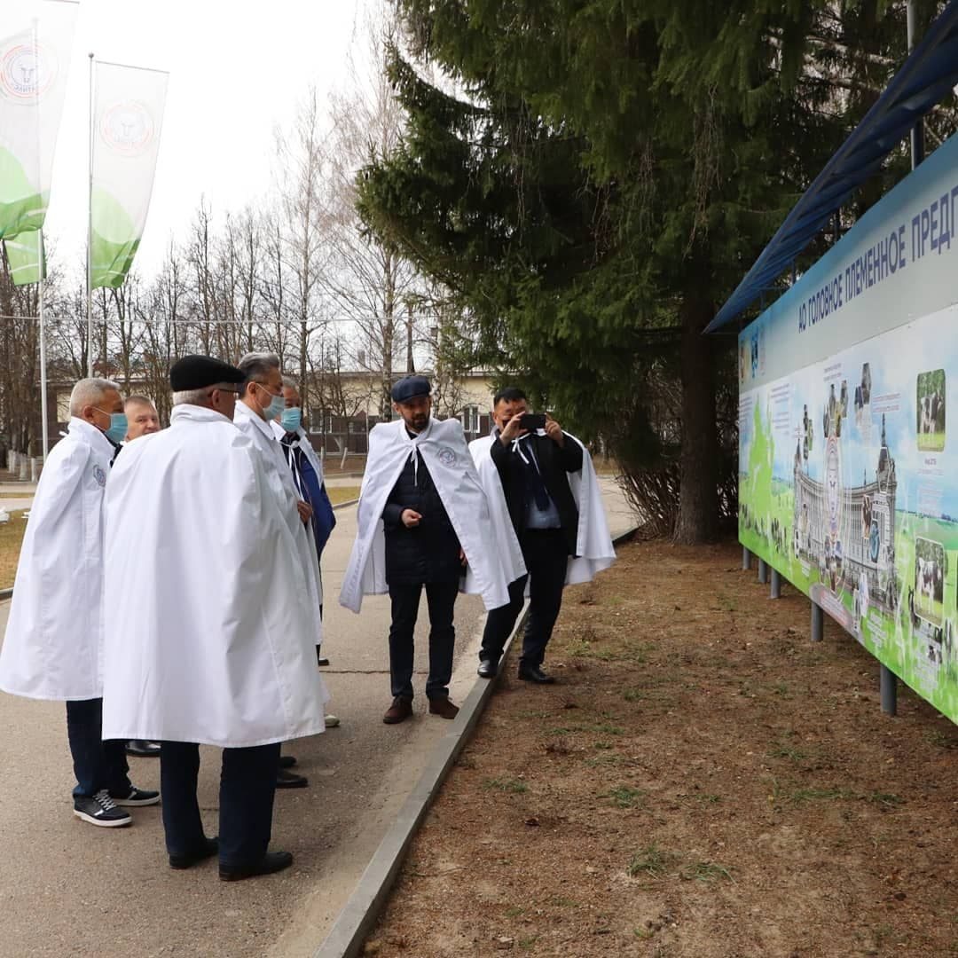 The elite was visited by a delegation from Yakutia